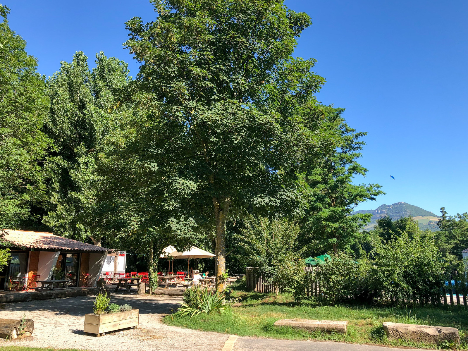 Camping Huttopia Millau, Millau, Aveyron