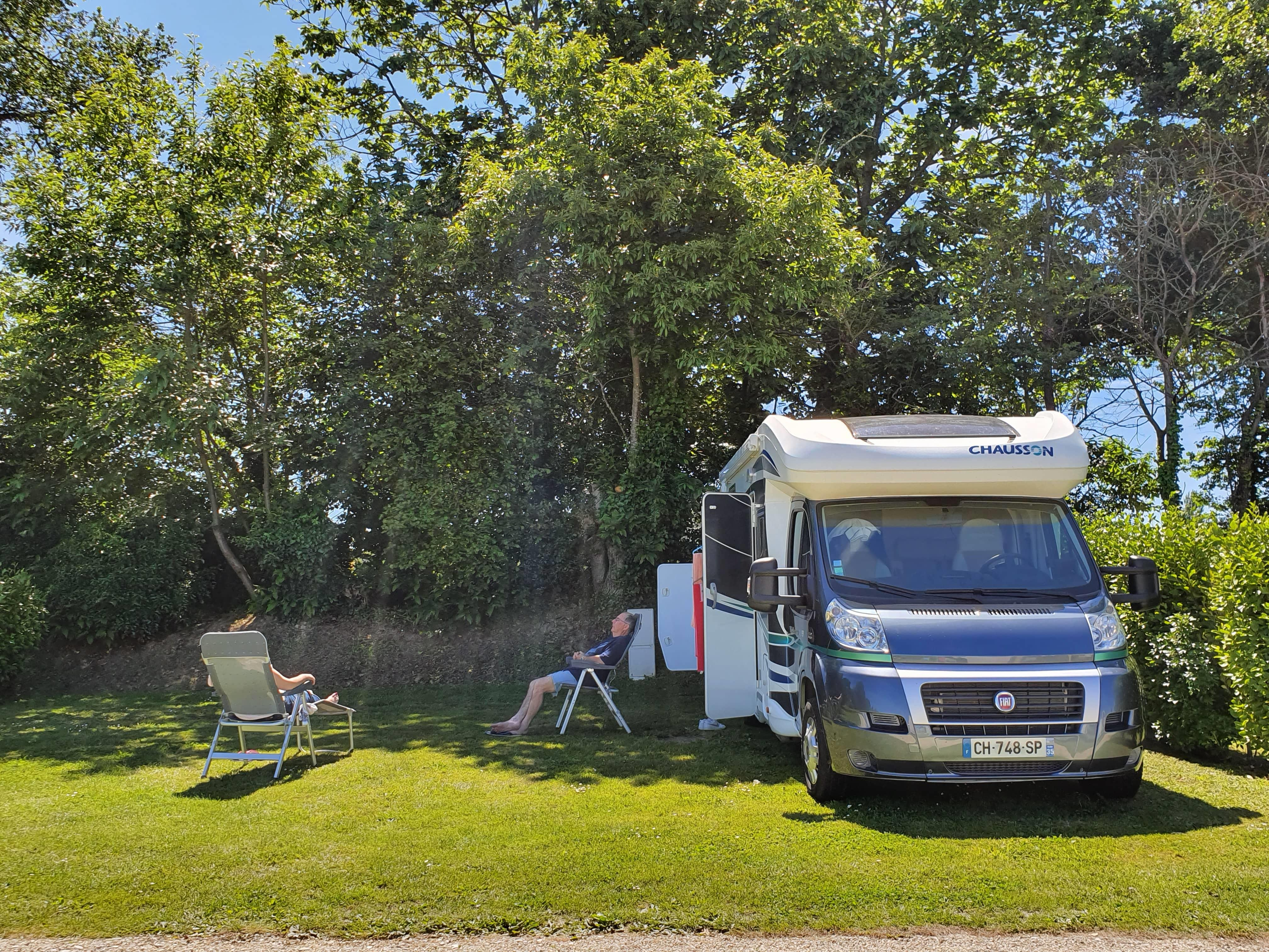 Camping de Kersentic, Fouesnant, Finistère