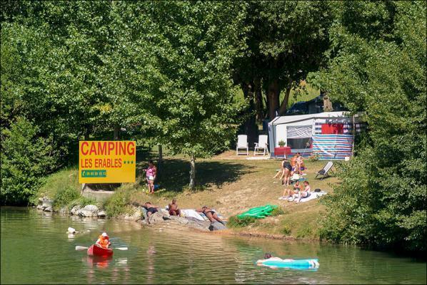 Camping les Érables, Millau, Aveyron