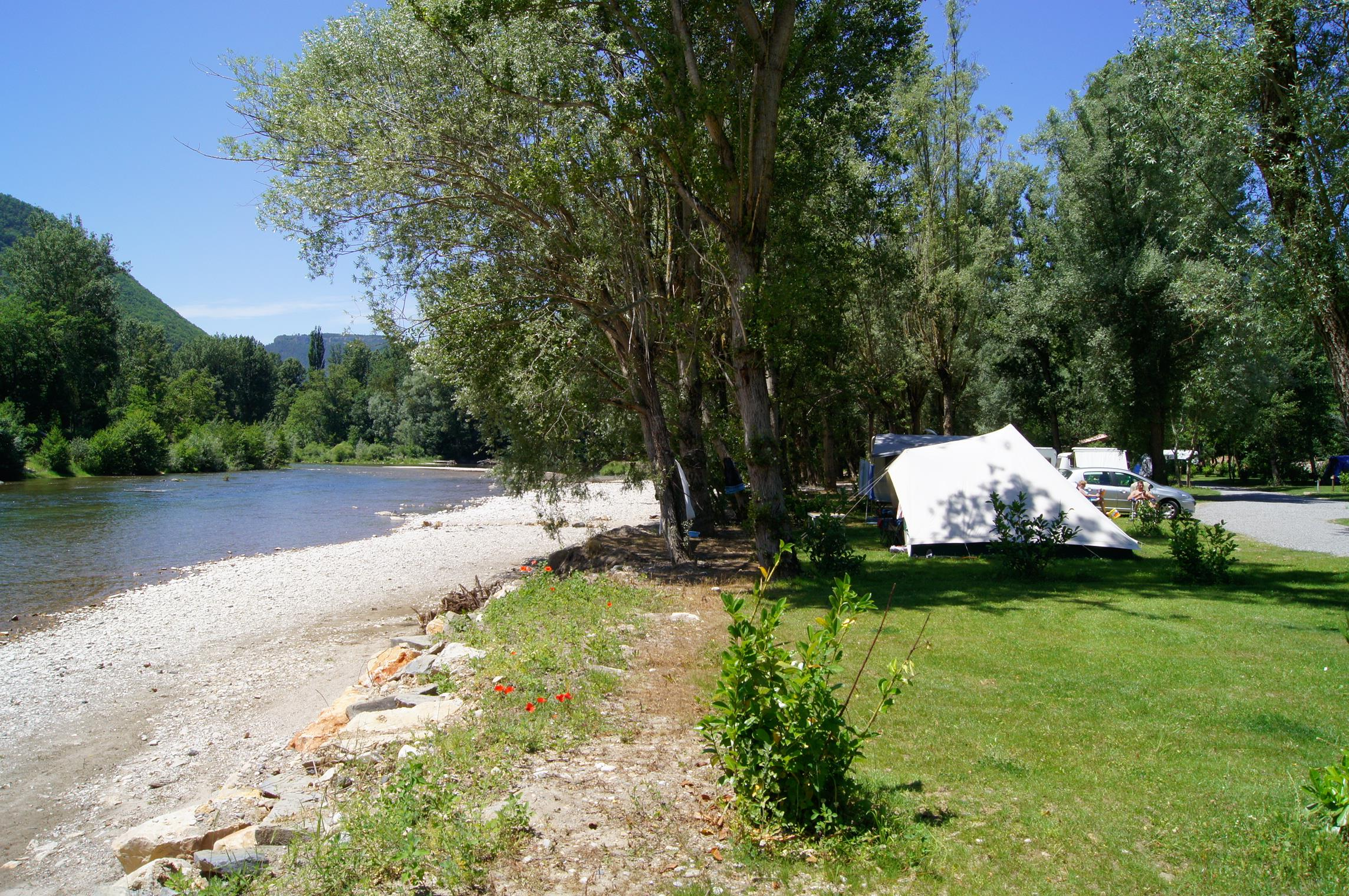 Plages Camping Les Bords Du Tarn - Mostuejouls