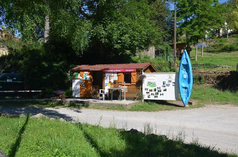 Camping la Muse Gorges du Tarn, Mostuéjouls, Aveyron