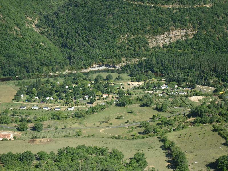 Camping le Roc Qui Parle, Nant, Aveyron