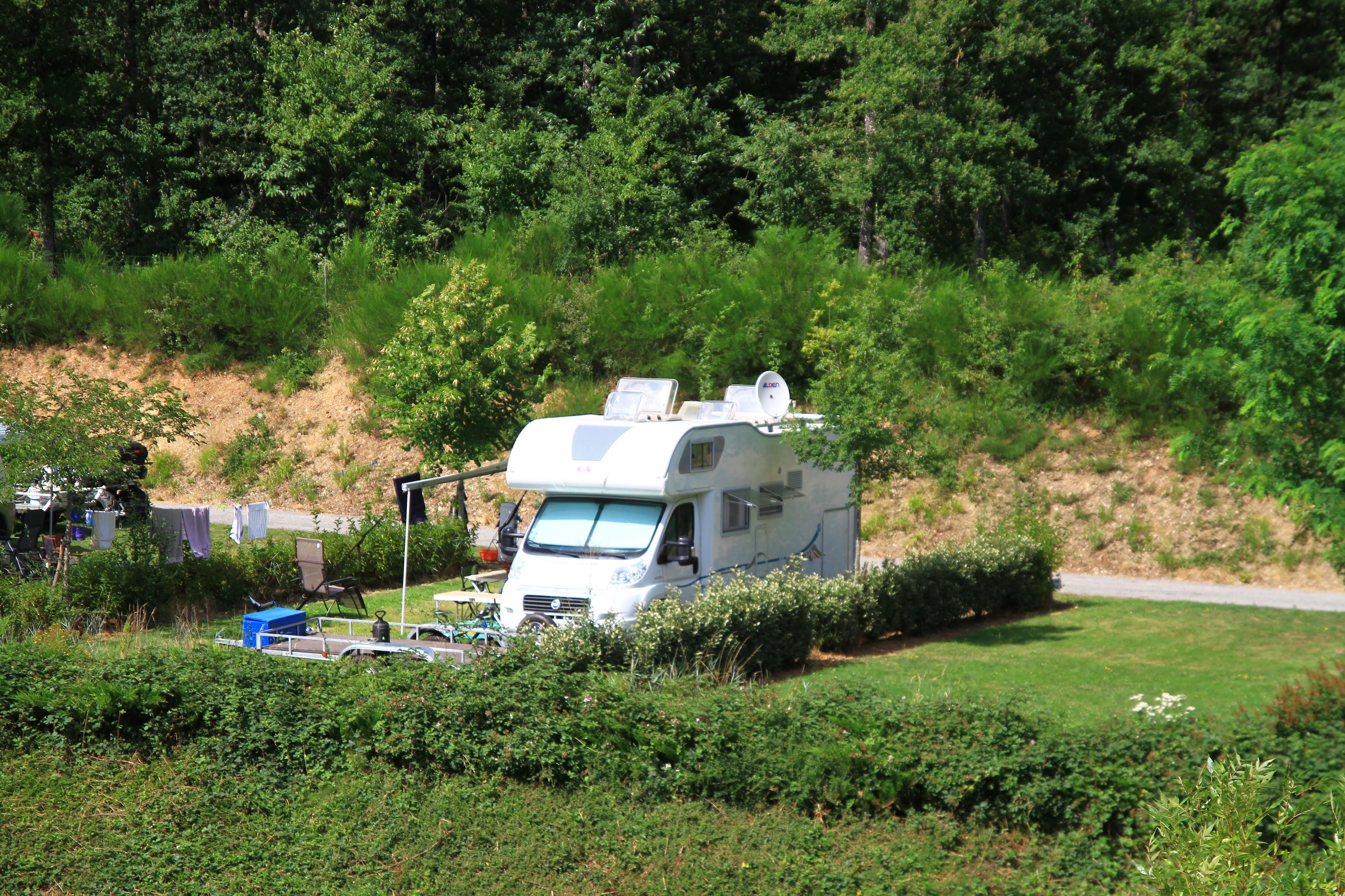 Camping du Lac de Bonnefon, Naucelle, Aveyron