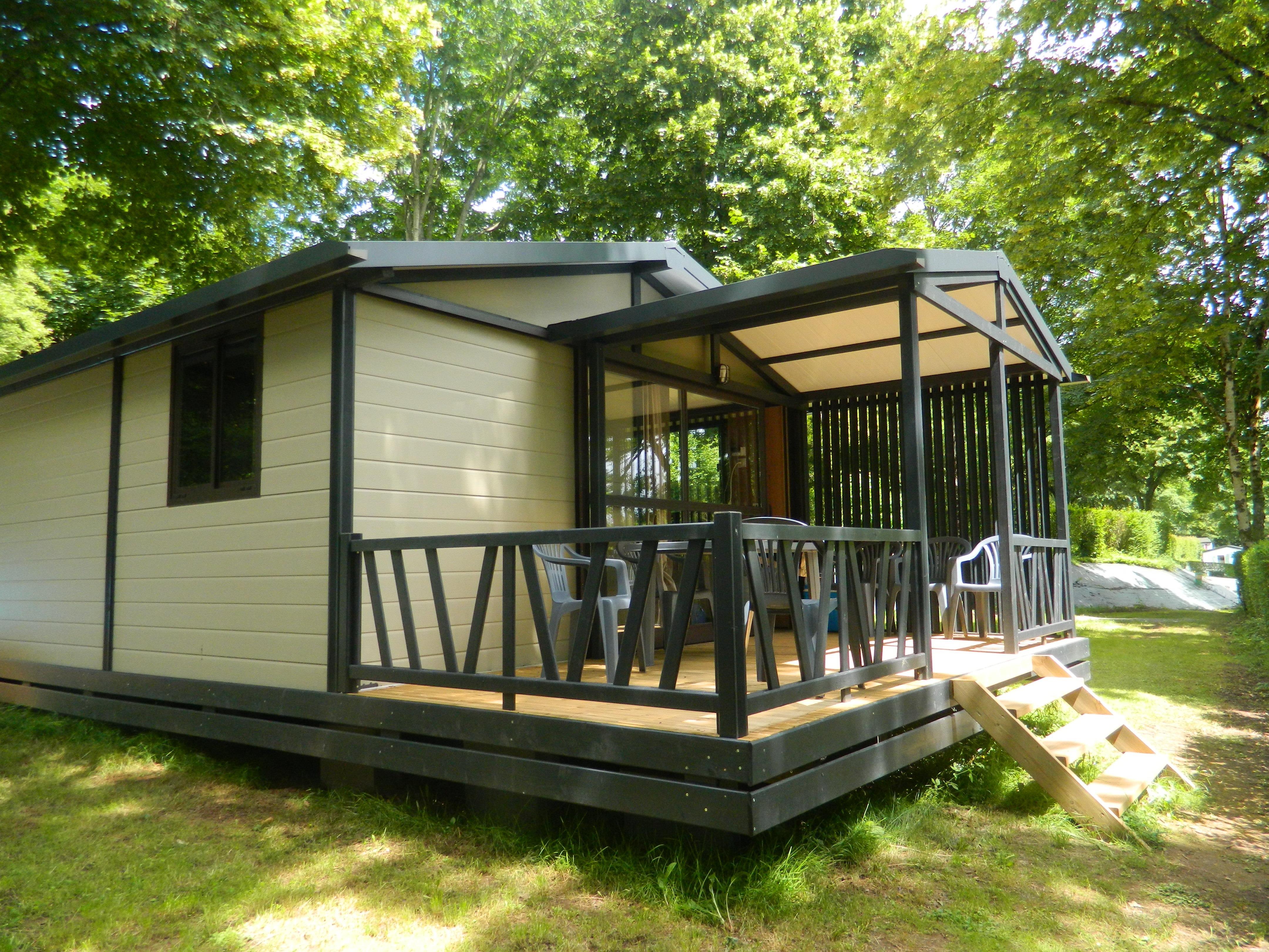 CHALET MOREA - 25 m2 + terrasse couverte 8 m2 -