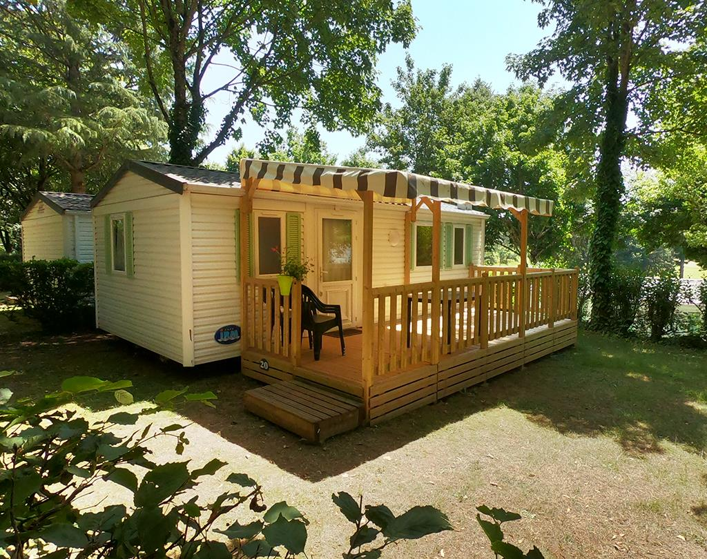 Mobil-home IRM - 28 m² - 2 chambres -