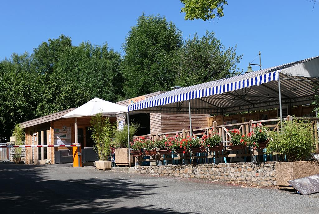 Camping la Peyrade, Rignac, Aveyron