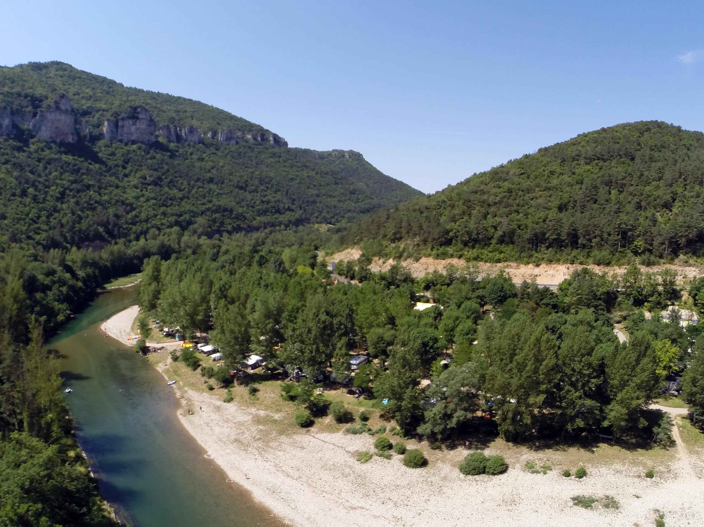 Camping le Peyrelade, Rivière-sur-Tarn, Aveyron