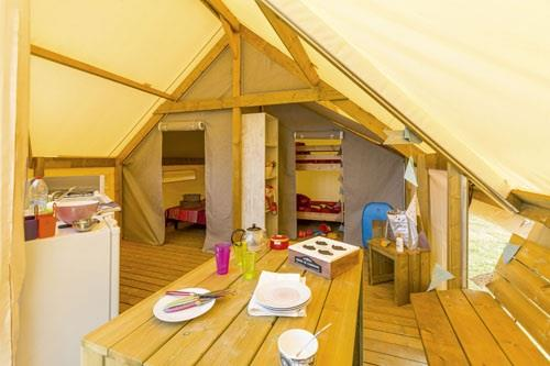 Location - Tente Ecolodge - Camping L'Anse des Pins
