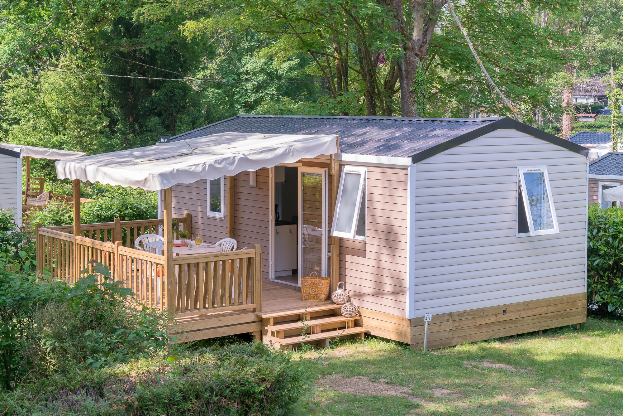 Location - Cottage Nono *** 2 Chambres - Camping Le Grand Paris