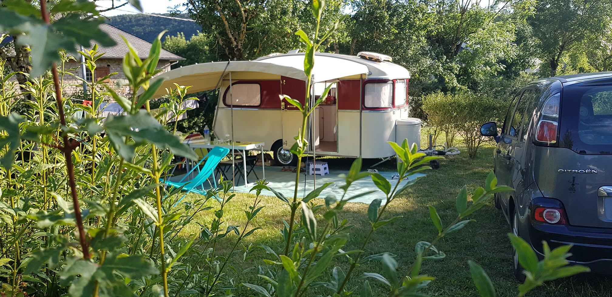 Camping les Calquières, Sévérac-d'Aveyron, Aveyron