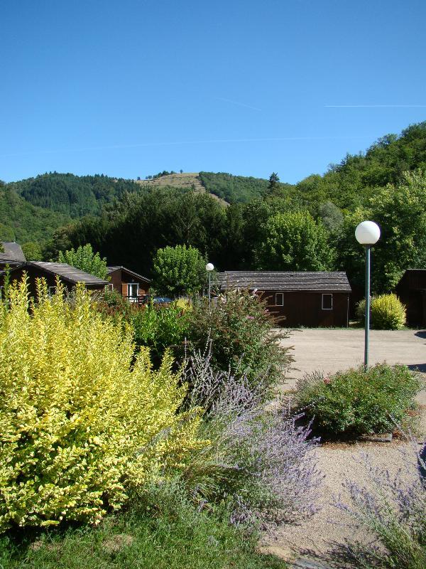 Camping  la Rivière, Saint-Hippolyte, Aveyron