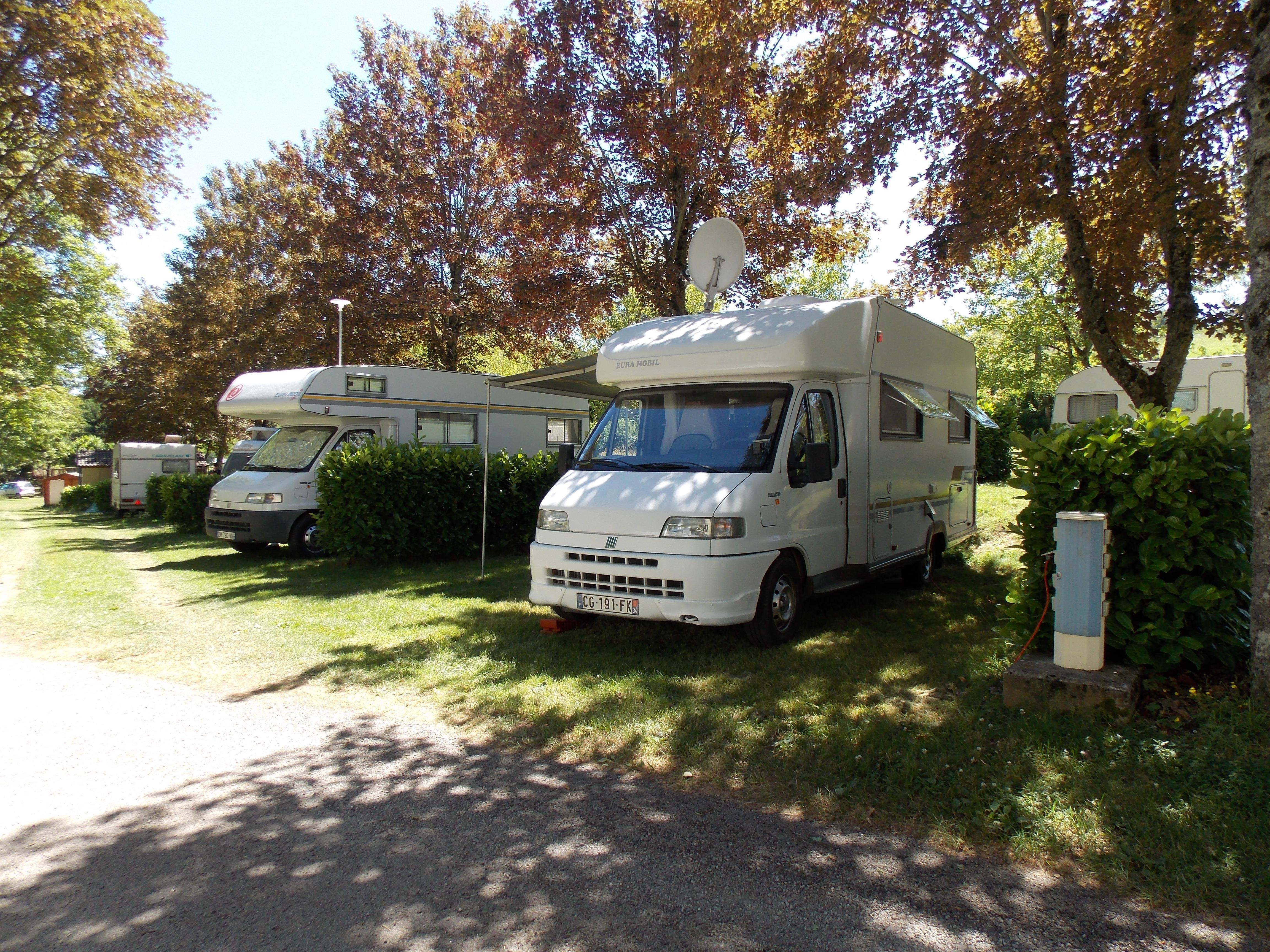 Camping le Saint Étienne, Villefranche-de-Panat, Aveyron