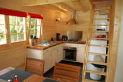Accommodation - Wooden Chalet - CAMPING ASCOU LA FORGE
