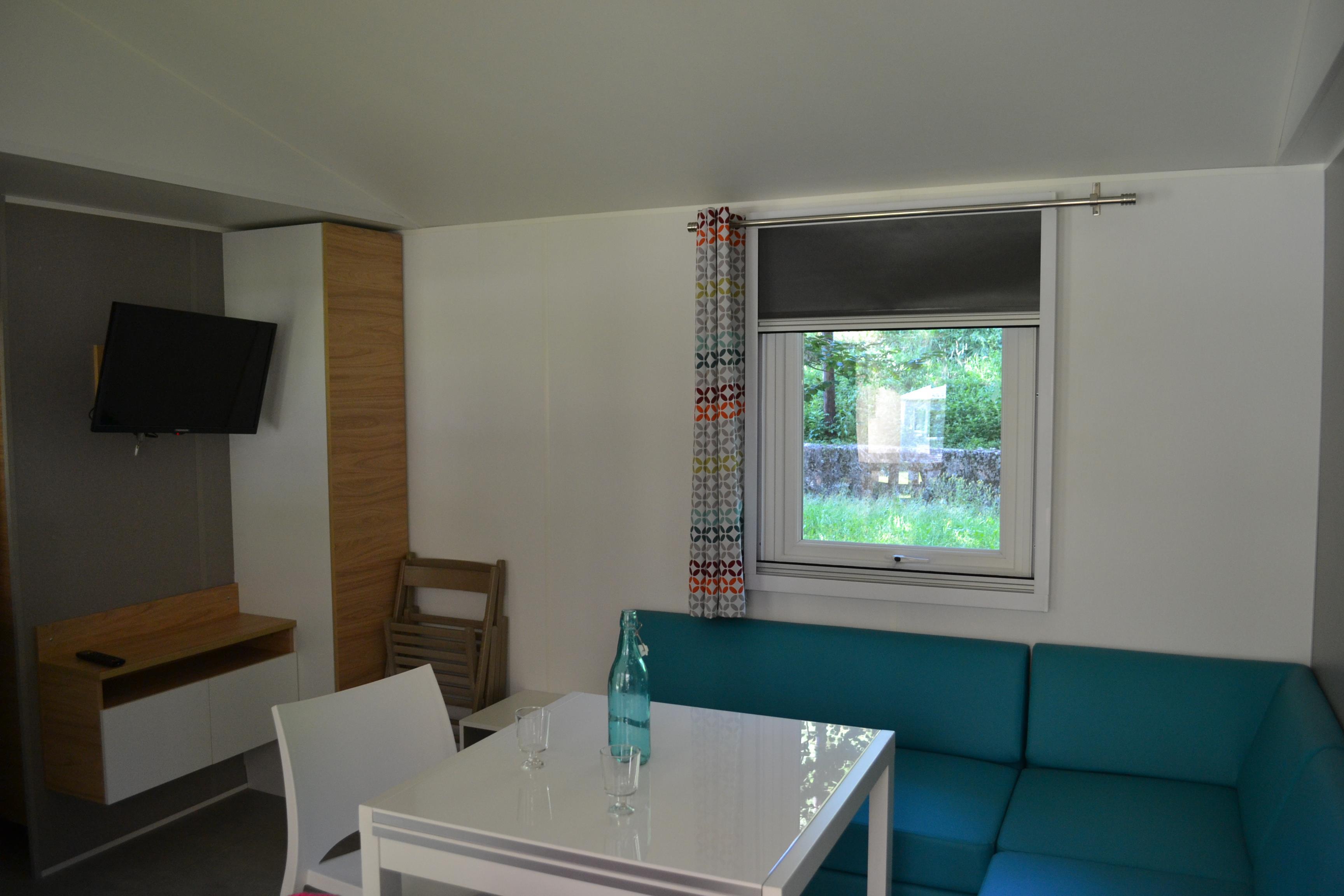 Location - Mobil Home Premium 42M² (3 Chambres - 2 Salles D'eau) - Camping Le Malazéou