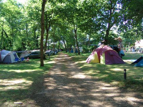 Camping le Pin, Saint-Justin, Landes