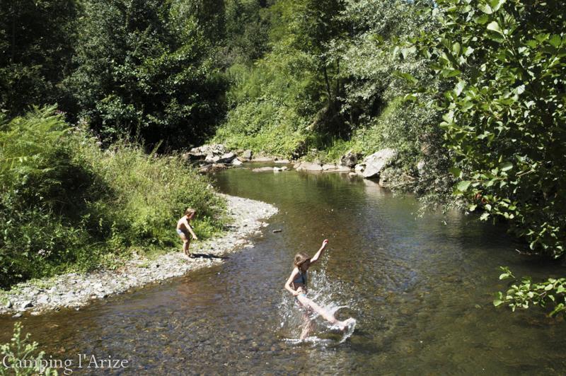 Camping l'Arize, La Bastide-de-Sérou, Ariège