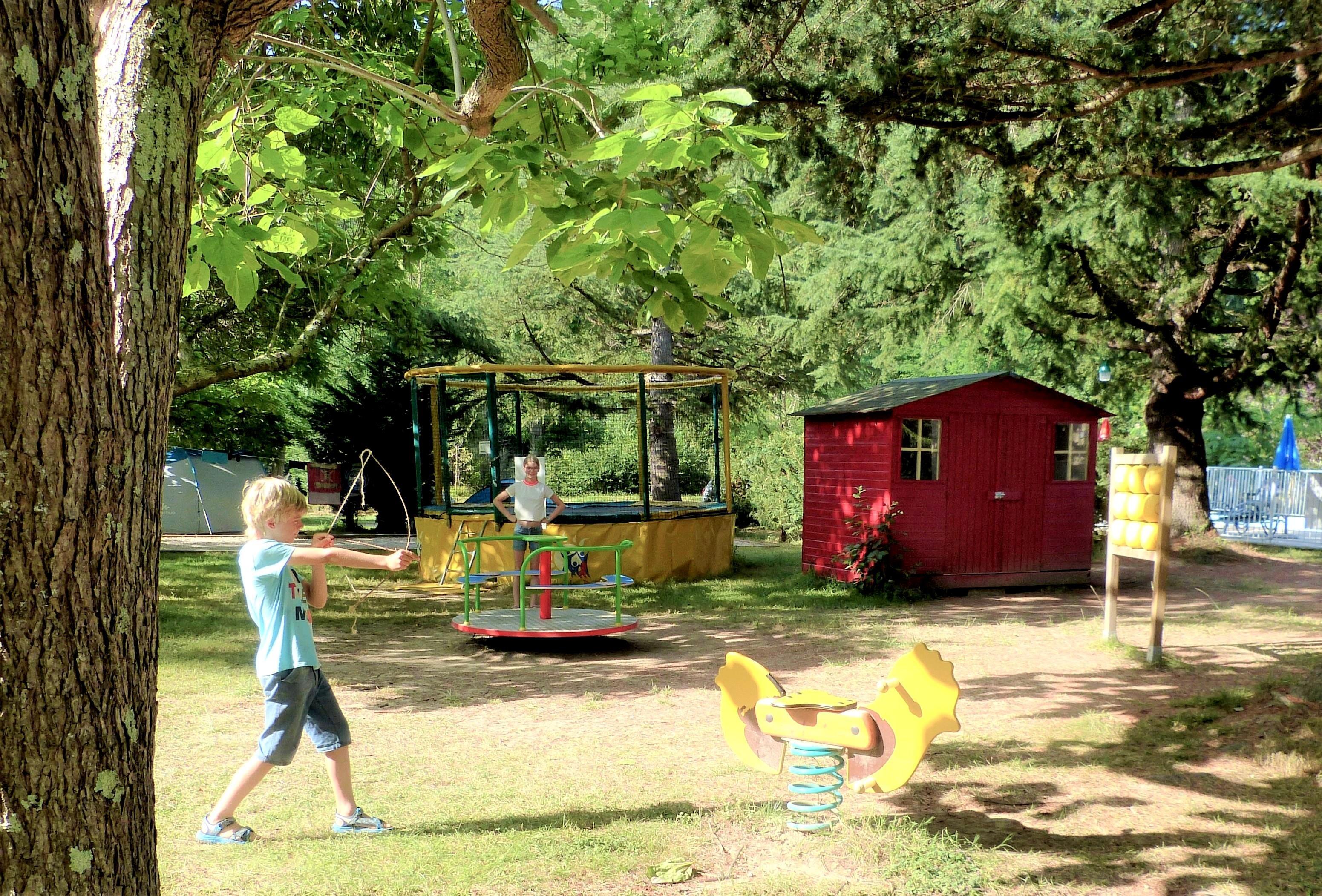 Camping le Petit Pyrénéen, Le Mas-d'Azil, Ariège