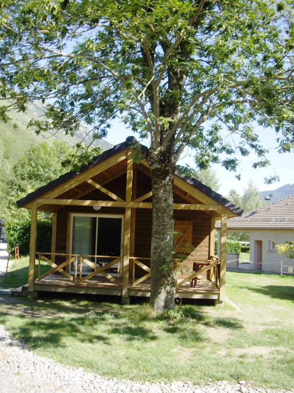 Alojamiento - Chalet Pedrous 35M² (2 Chambres) - Camping De Merens