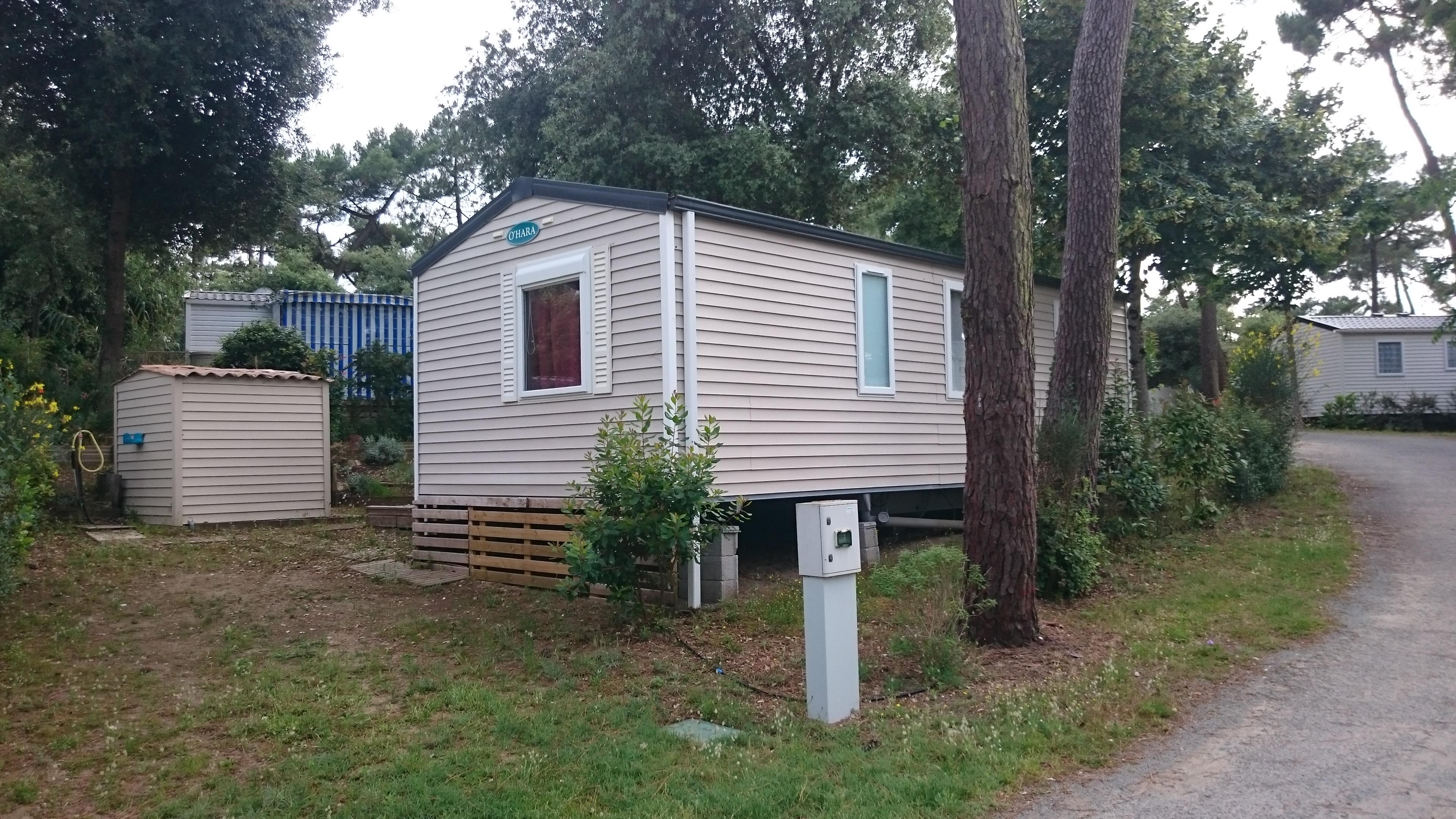 Location - Mobil Home Palourde 2 Chambres - Camping-Club Les Pins
