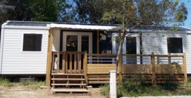 Location - Mobil Home Orphie 2 Chambres - Camping-Club Les Pins