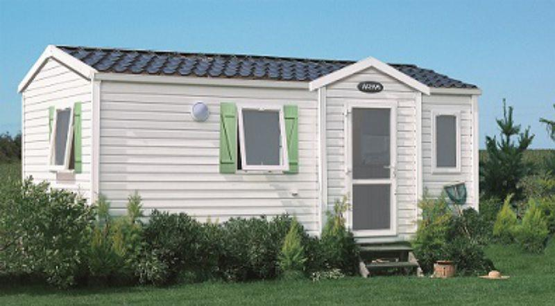 Location - Mobil Home Crabe 2 Chambres - Camping-Club Les Pins