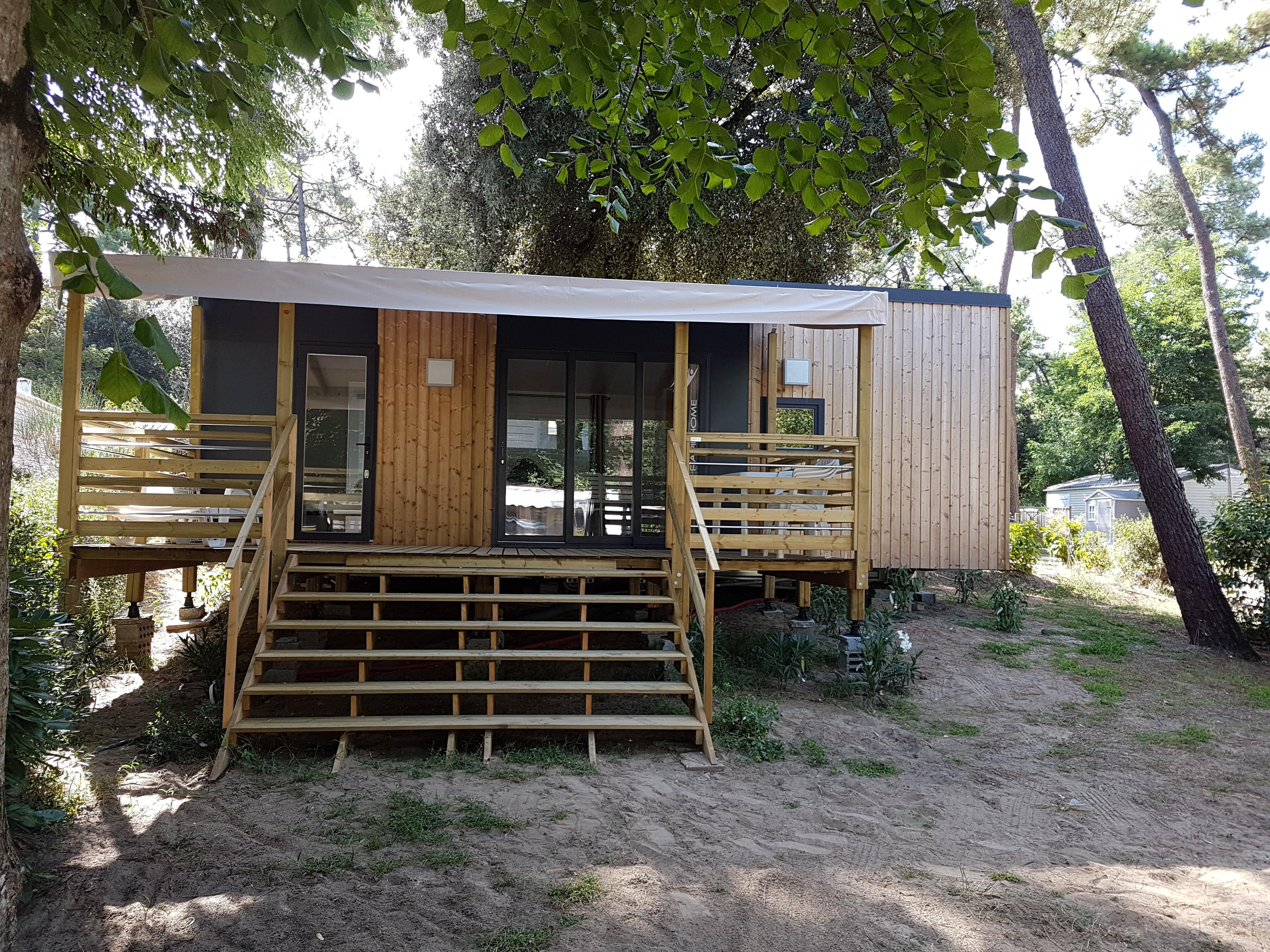 Location - Mobil-Home Buccin 2 Chambres / 2 Salles De Bain - Camping-Club Les Pins