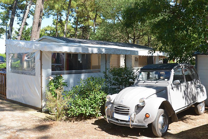Location - Mobil Home Langouste 3 Chambres - Camping-Club Les Pins
