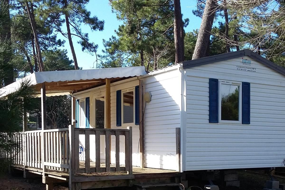 Location - Mobil-Home Sardine 2 Chambres - Camping-Club Les Pins