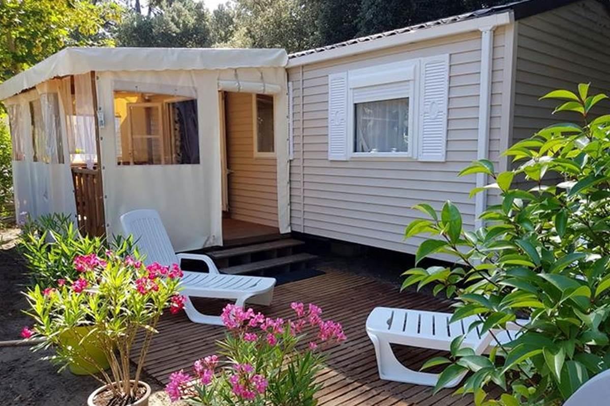 Location - Mobil-Home Homard 3 Chambres / 2 Salles De Bain - Camping-Club Les Pins