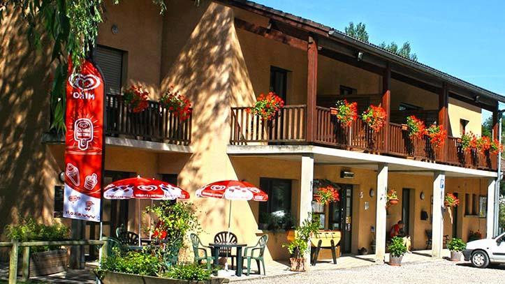 Chambre - Chambre D'hôtel N°1 : 2 Lits De 90 - Camping Les 4 Saisons