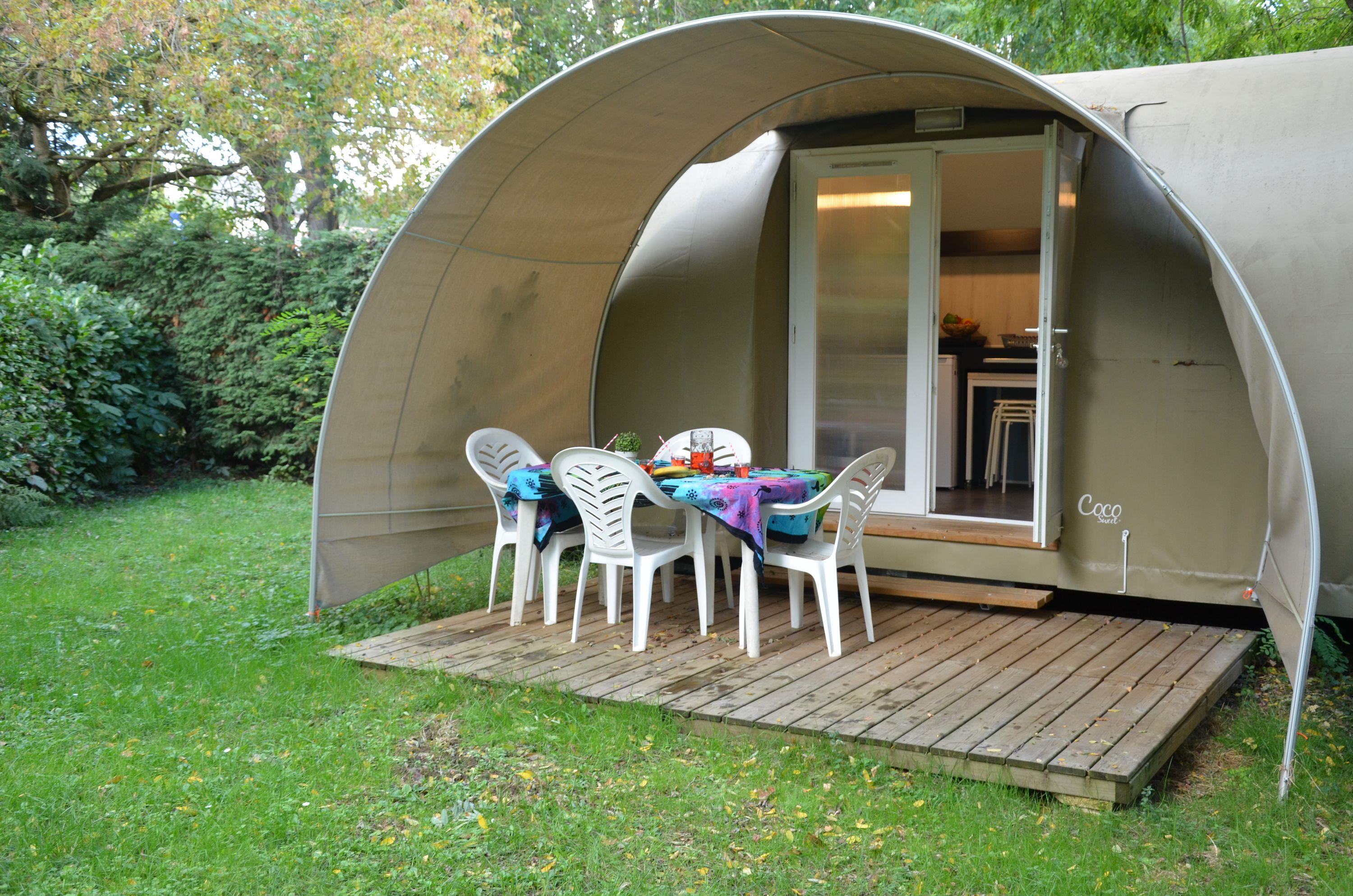 Location - Coco Sweet 2 Chambres - Sans Sanitaires - Camping Les Mijeannes