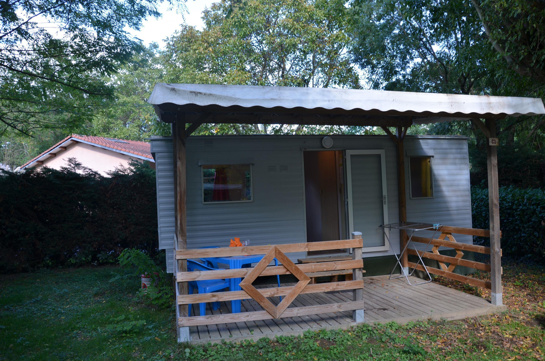 Location - Mobil-Home Eco 20M² (1 Chambre - 2 Adultes - 1 Bébé) Sans Sanitaire - Camping Les Mijeannes