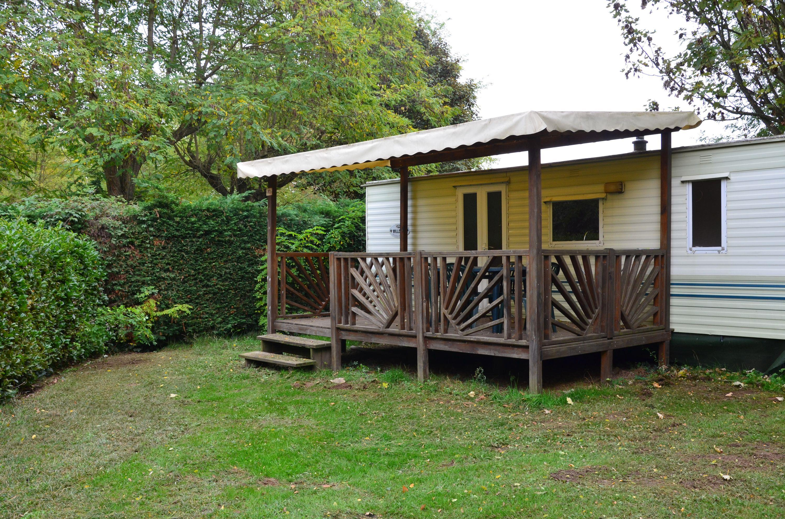 Location - Mobil-Home Eco 22M² (2 Chambres) - Camping Les Mijeannes