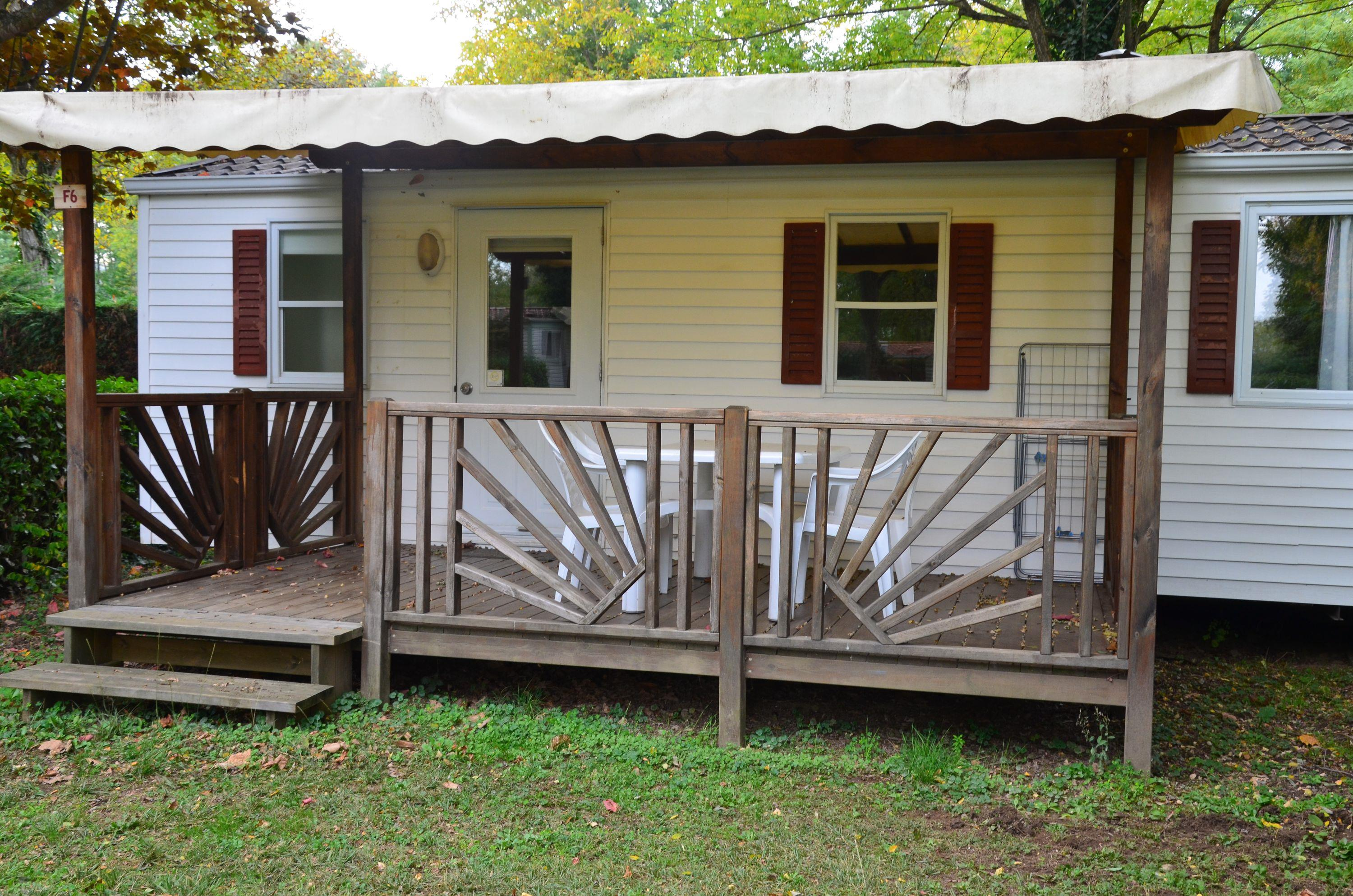 Location - Mobile-Home Eco 25M² - 2 Chambres - Camping Les Mijeannes