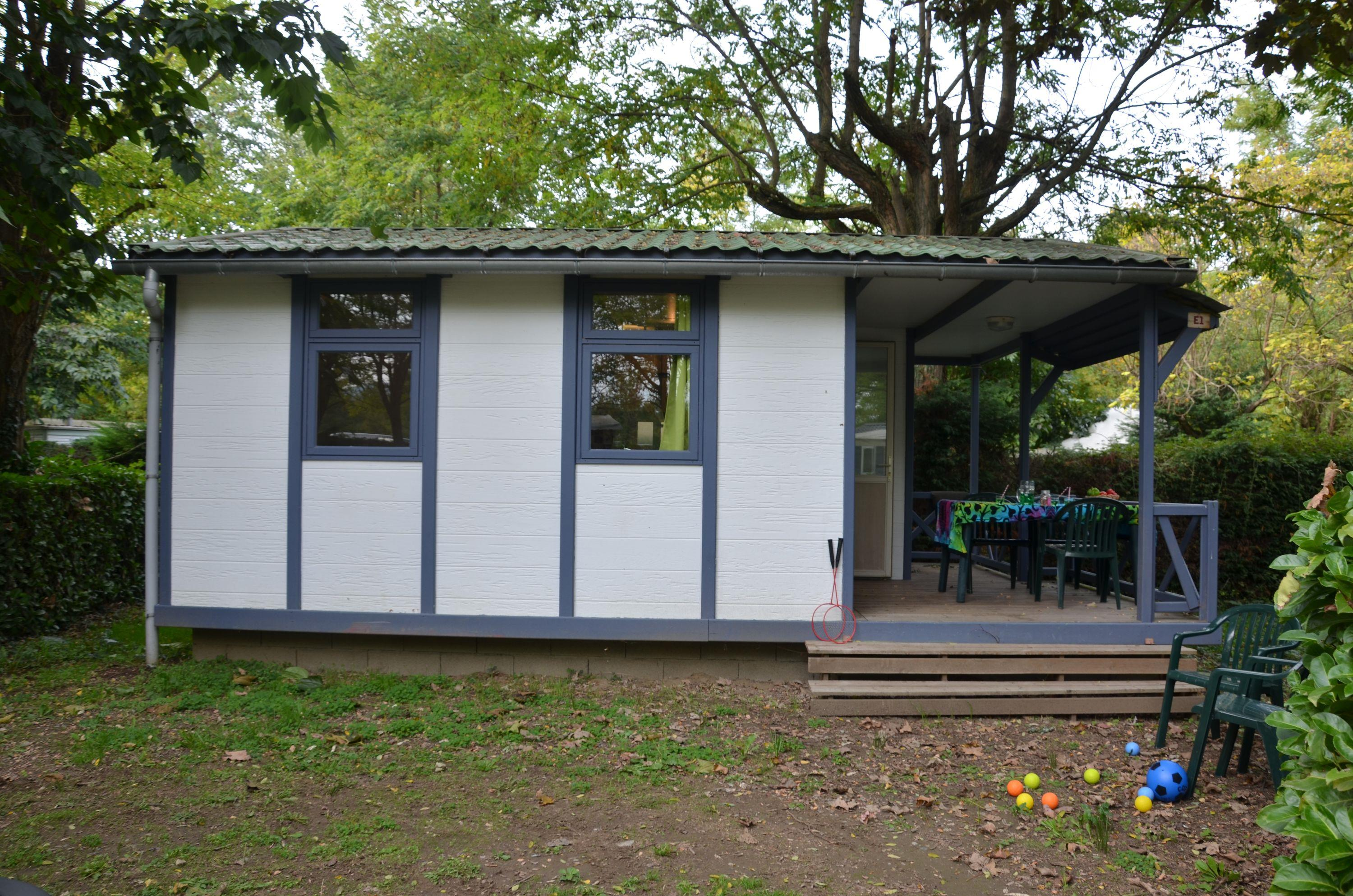 Location - Chalet Eco 25M² (2 Chambres) - Camping Les Mijeannes