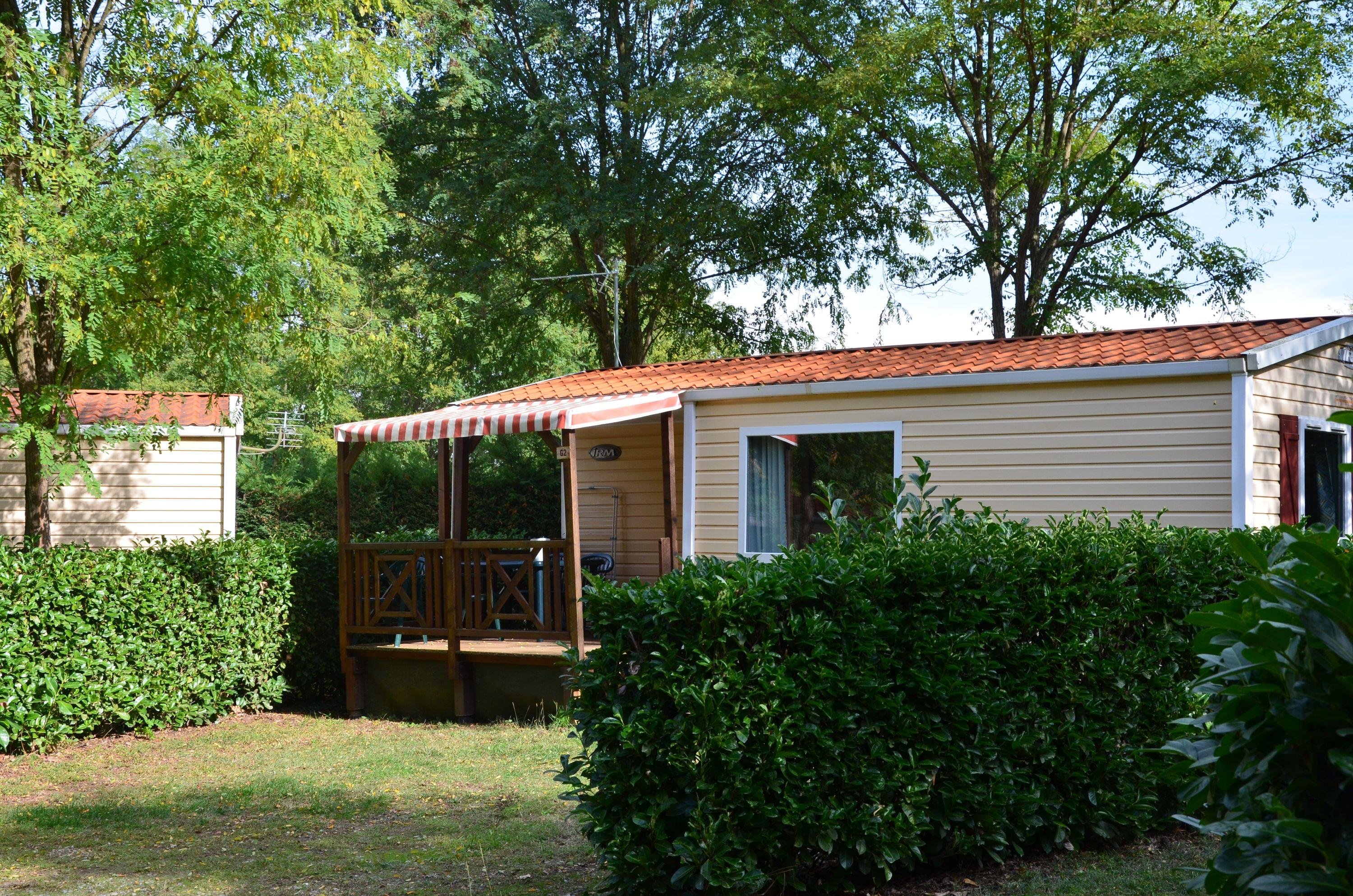 Location - Mobil-Home Confort 25M² (2 Chambres) - Camping Les Mijeannes