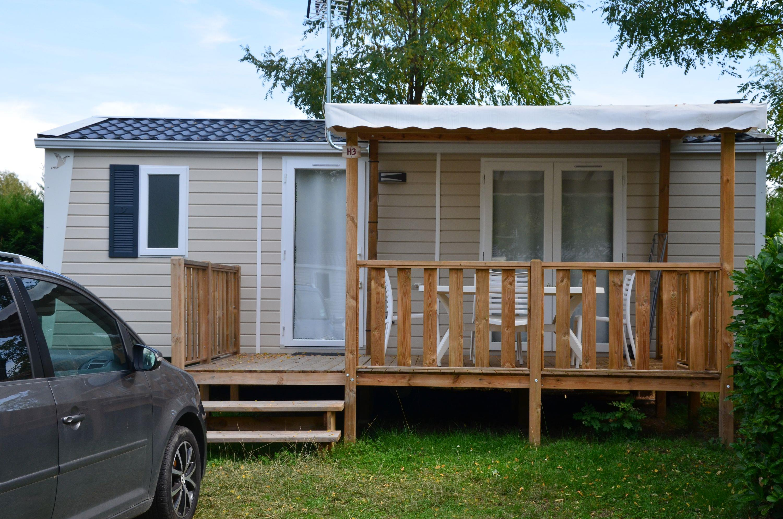 Location - Mobile-Home Premium 29M² - 2 Chambres +Tv - Lave Vaisselle - Camping Les Mijeannes