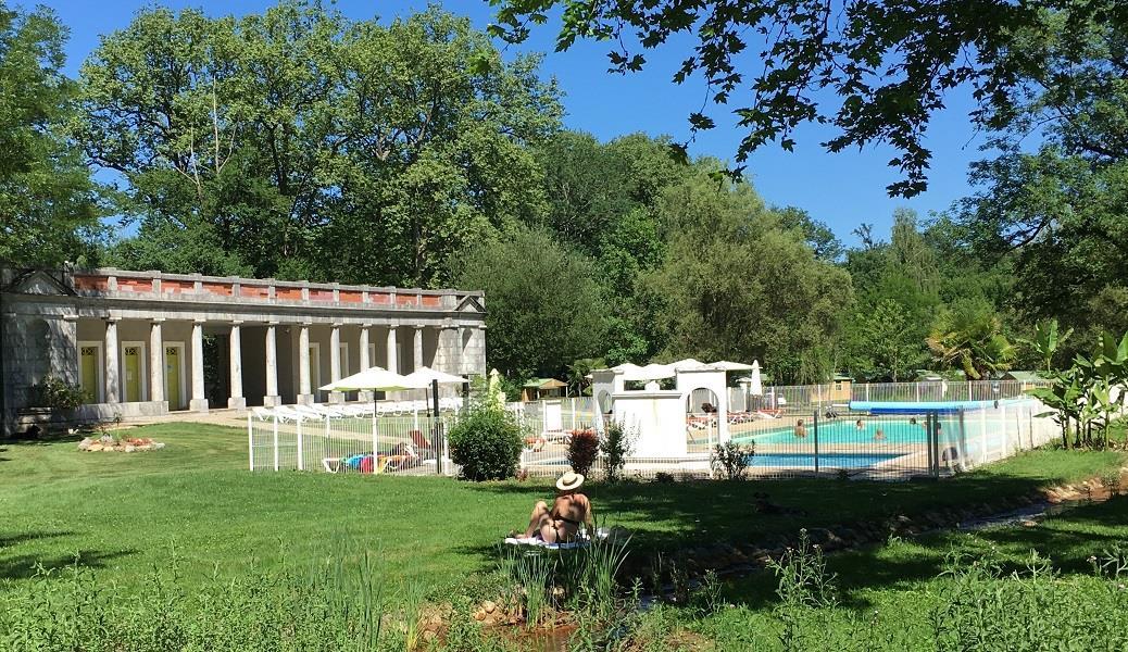 Camping d'Audinac les Bains, Saint-Girons, Ariège