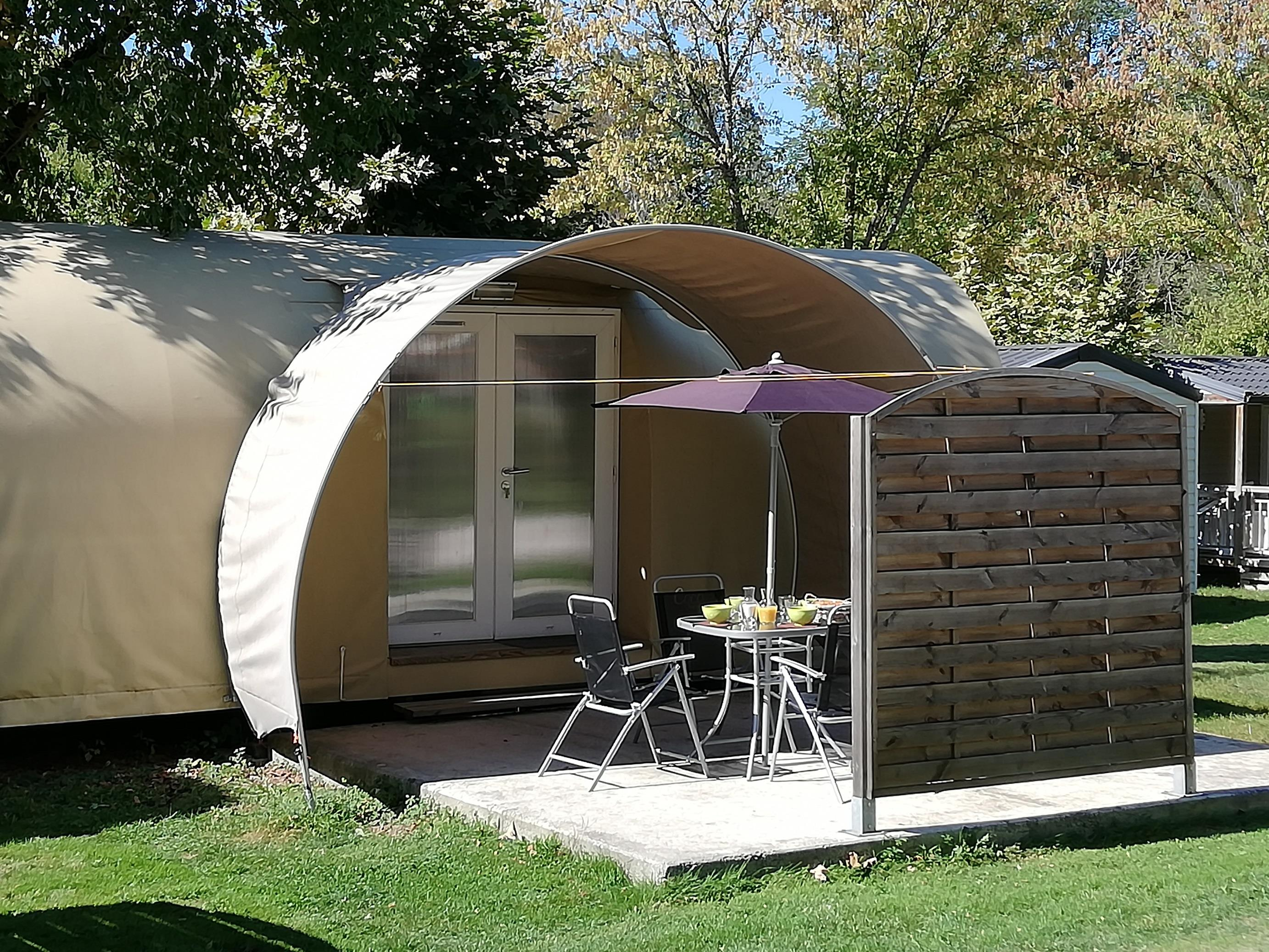 Location - Insolite Cocosweet - Camping Parc d'Audinac les Bains