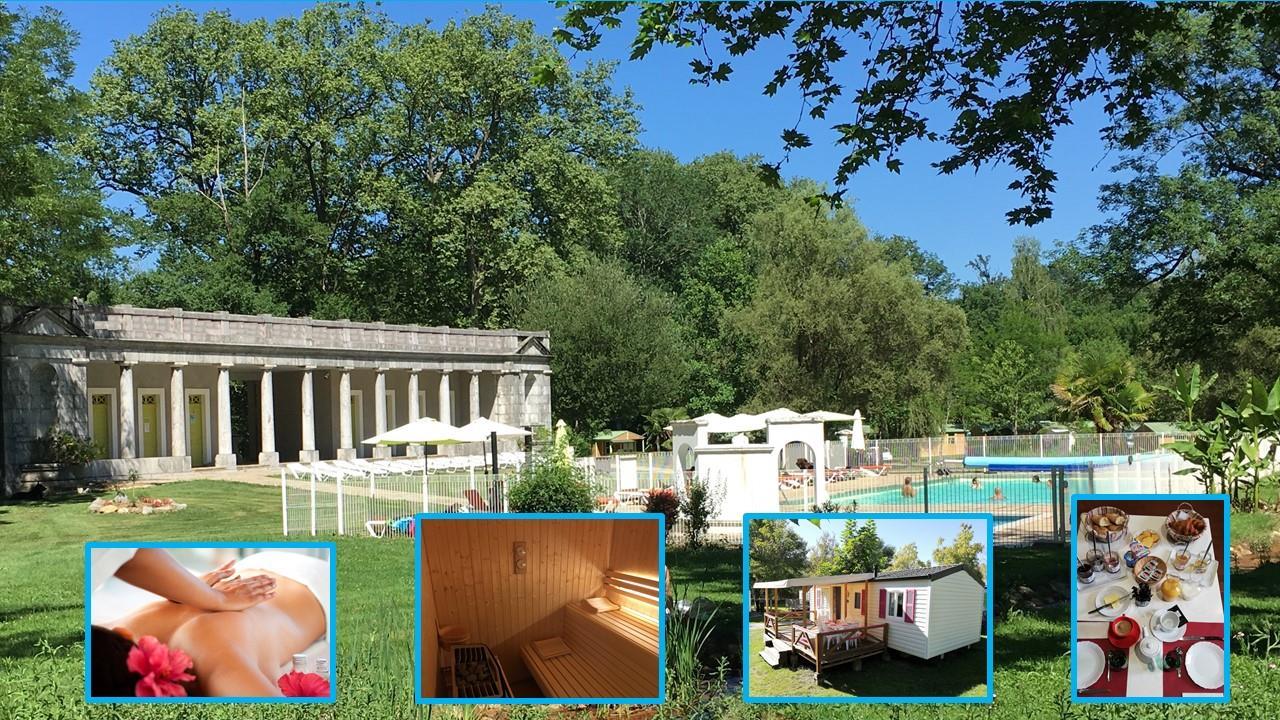 Location - Week End Détente Et Volupté 2 Jours Pour 2 Personnes - Camping Parc d'Audinac les Bains