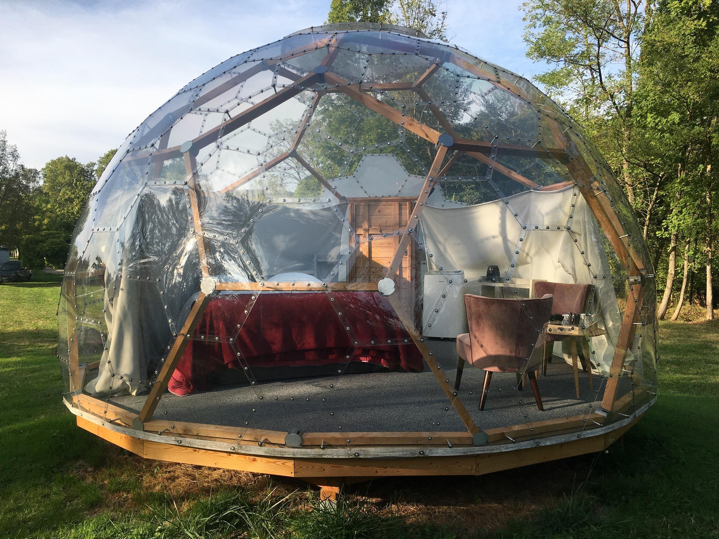 Location - Bulle - Géopod - Camping Parc d'Audinac les Bains