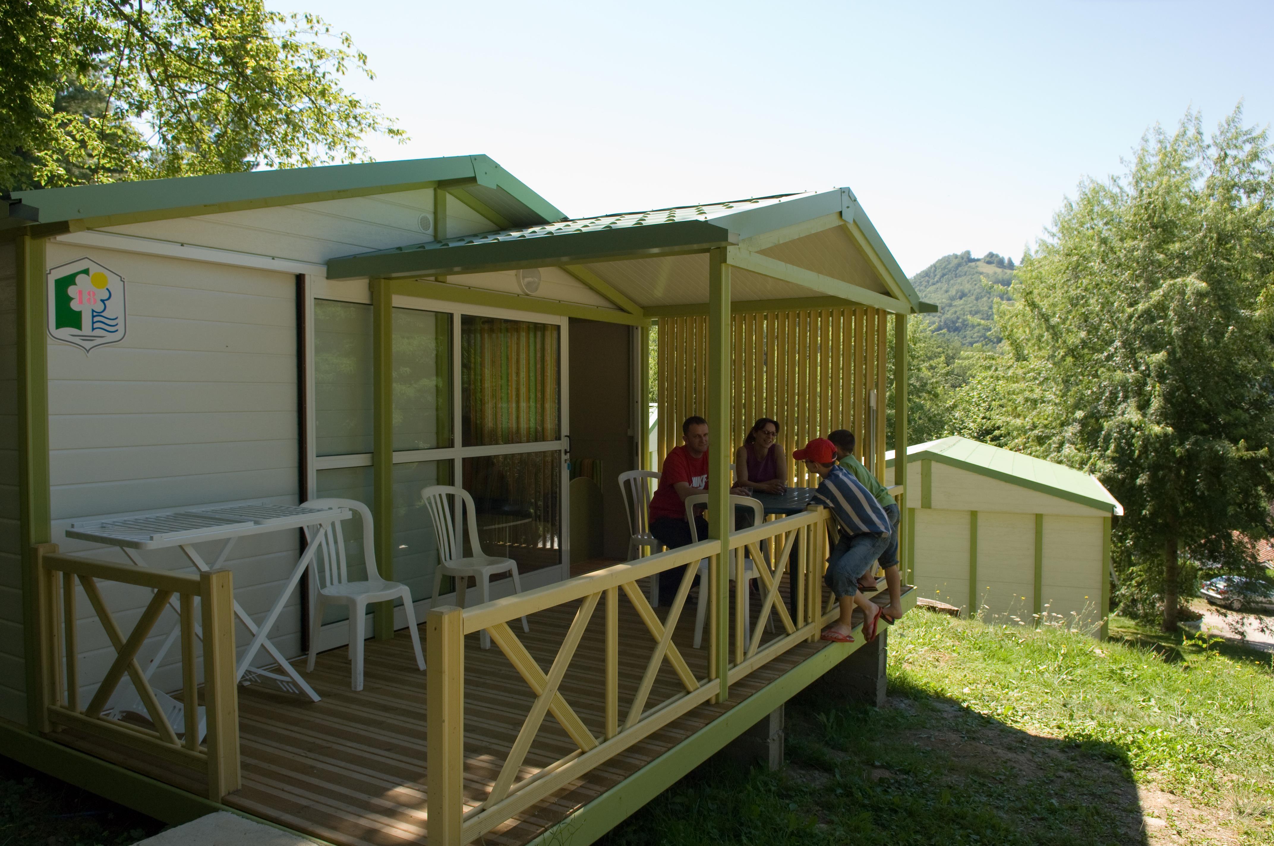 Location - Chalet Club 2 Chambres - Parc de Palétès