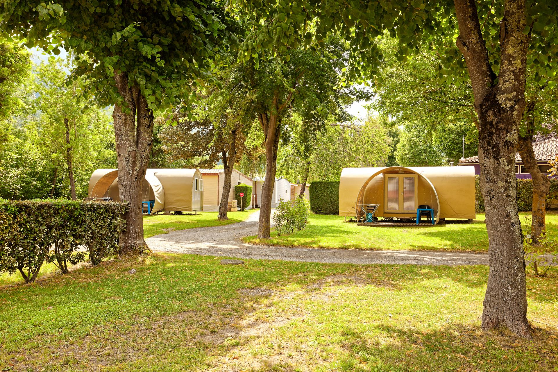 Accommodation - Coco Sweet Mobile Home - Without Private Facilities - Camping SEDOUR