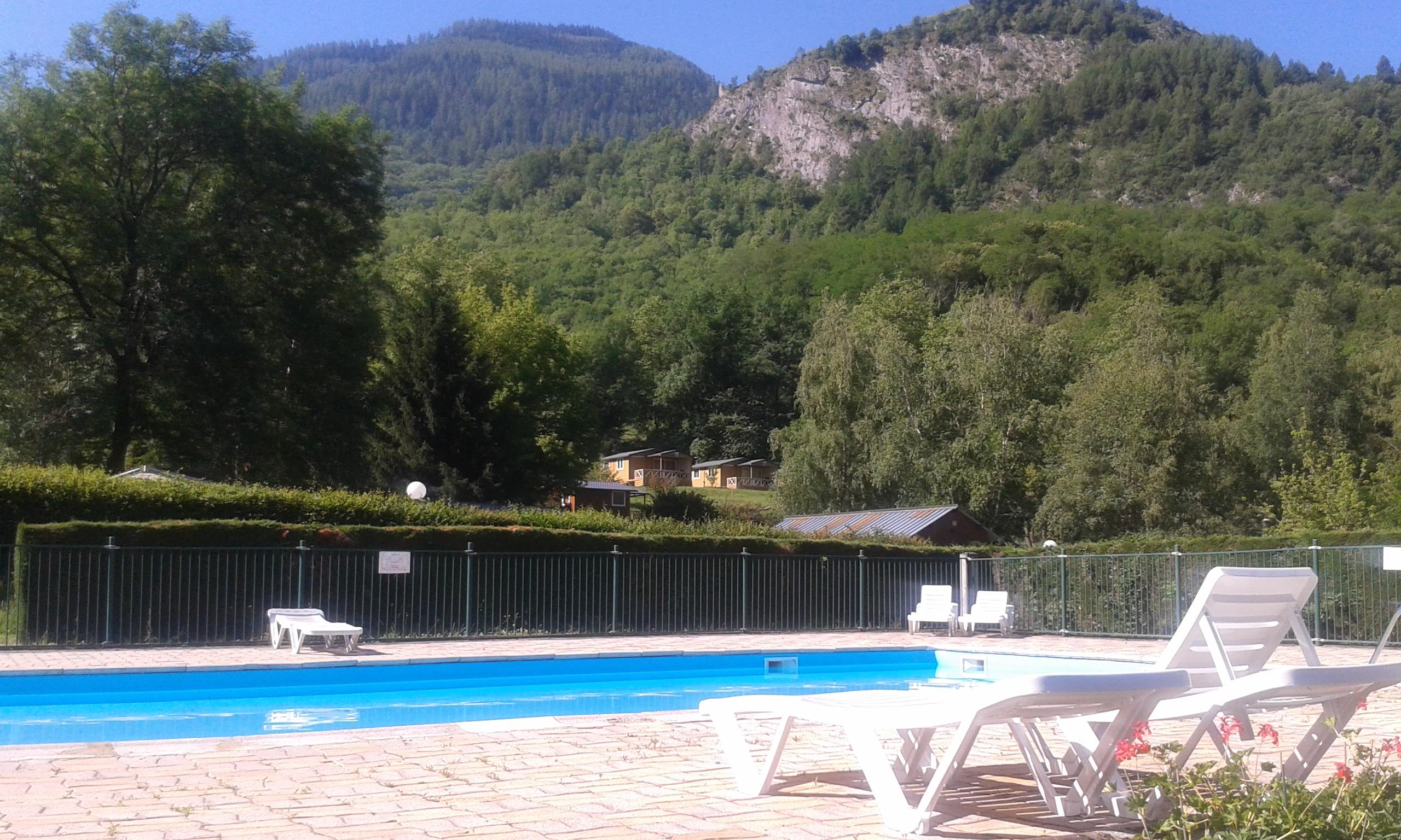 Bathing Flower Camping La Bexanelle - Vicdessos