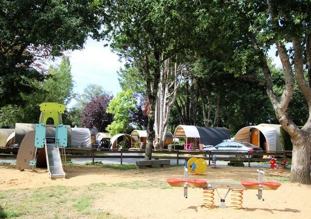 Camping l'Étang du Pays Blanc, Guérande, Loire-Atlantique
