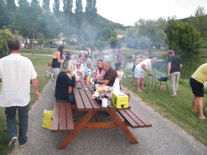 Entertainment organised Camping Le Pouchou - Tournon D'agenais