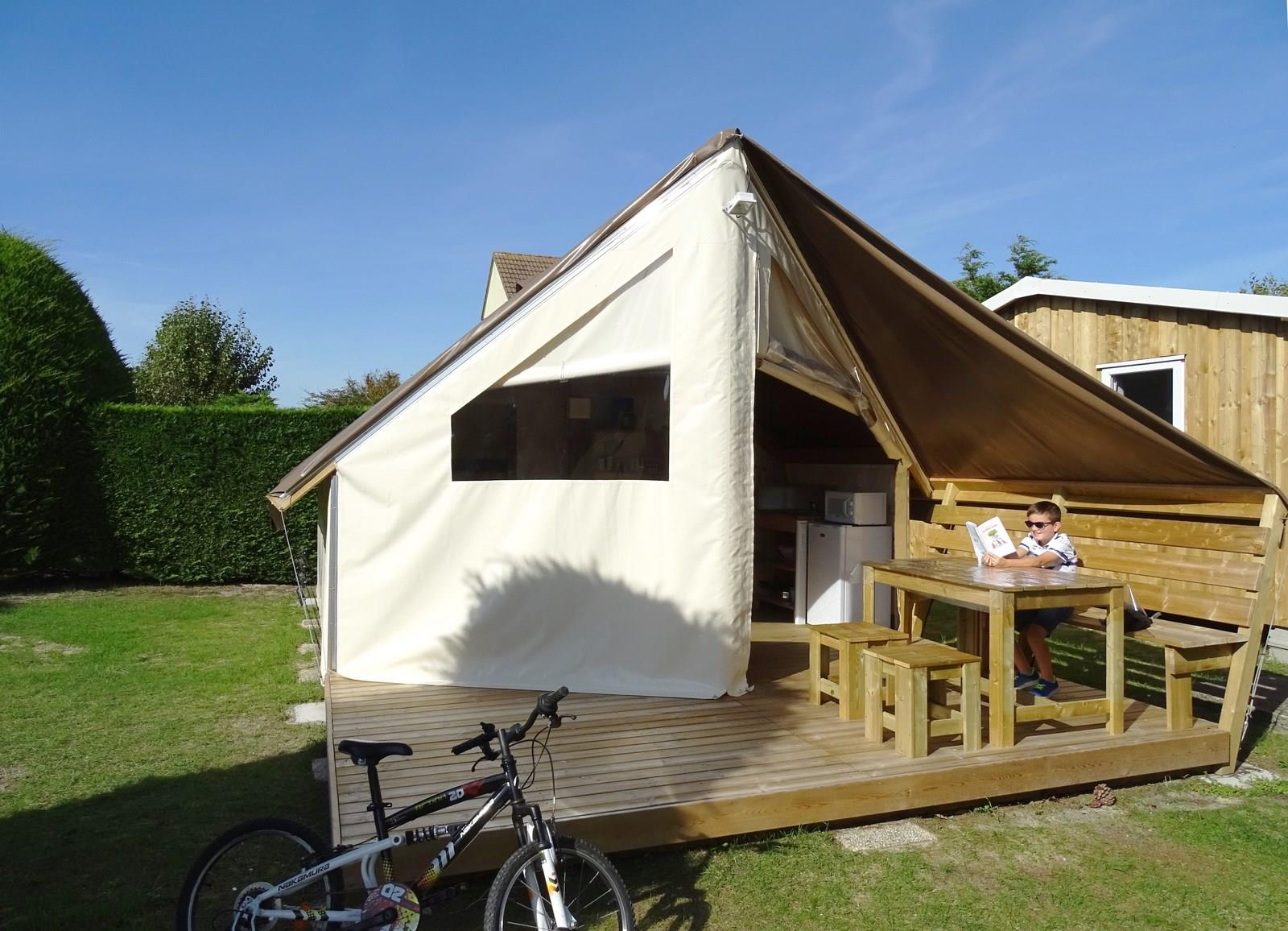 Tente Sahari Lodge 2 chambres 21 m²