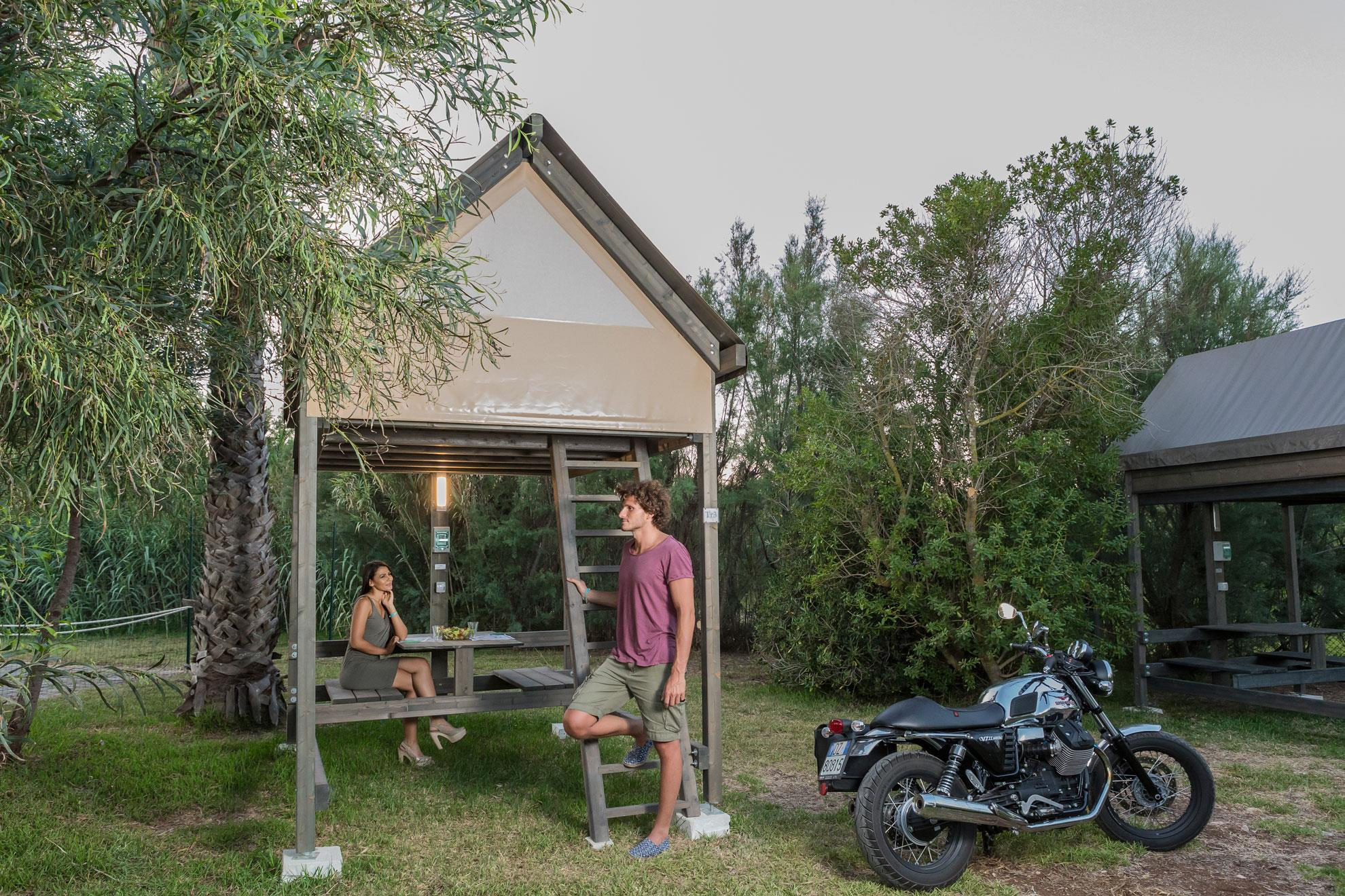 Accommodation - Tent Glamour Rider - Torre Rinalda Camping Village