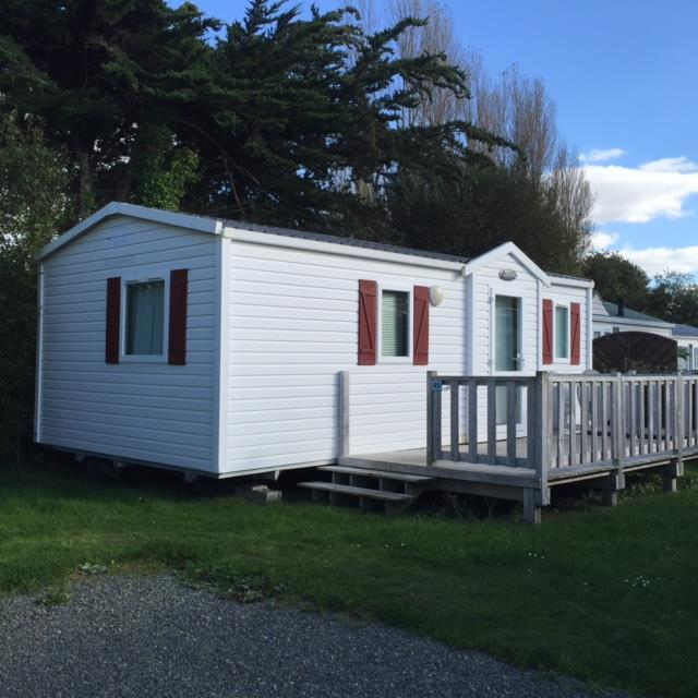 Location - Mobilhome Confort 27M² - 2 Chambres - Terrasse - Camping Le Mat