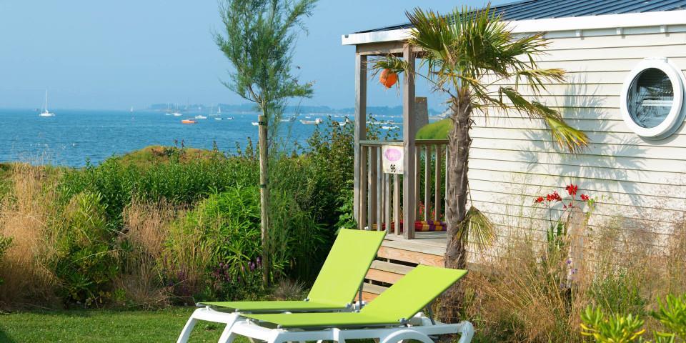 Location - Cottage Caraïbes Vue Mer **** 2 Chambres Les Îles - Yelloh! Village Les Mouettes